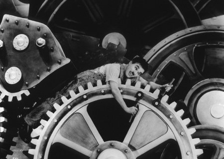 Thời kỳ hiện đại -  Charlie Chaplin