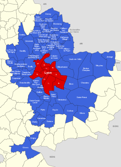 chính quyền đô thị - đại đô thị Lyon